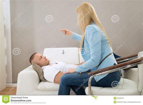 patient couch psychiatrist hypnotizing patient stock photo image 55845471