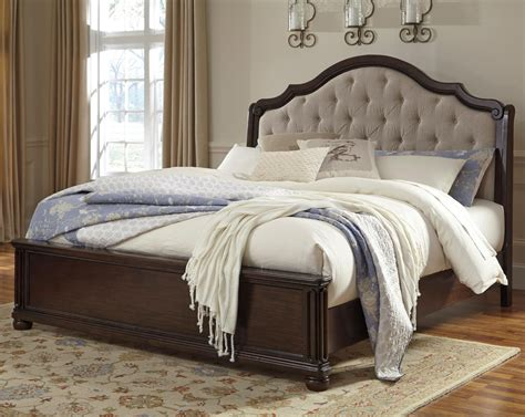 ashley king headboard signature design by ashley moluxy king bed with