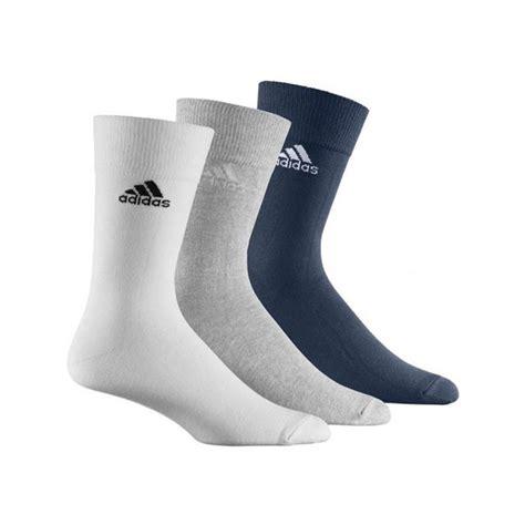 Jessen Kaos Kaki 3 Packs by Jual Kaos Kaki Casual Adidas Crew Plain T 3 Pack Socks