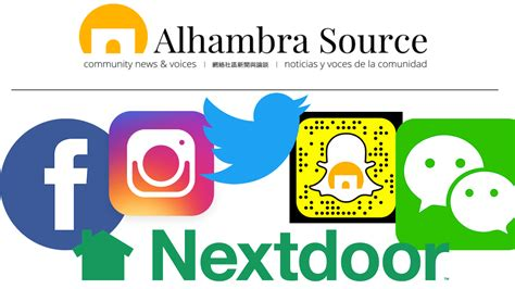 Find On Social Find Us On Social Media Alhambra Source