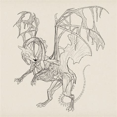 zombie sketch tutorial create zombie dragon concept art design and sketch