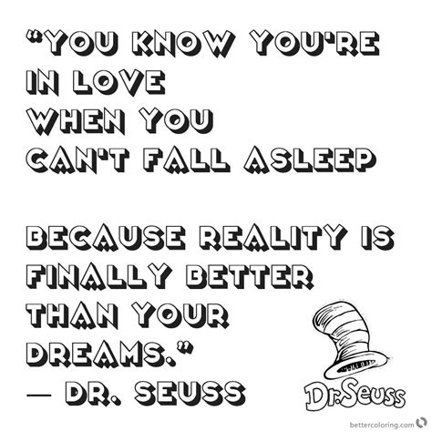 dr seuss quote coloring pages you you are in