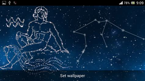wallpaper bintang libra zodiac aquarius live wallpaper android apps on google play
