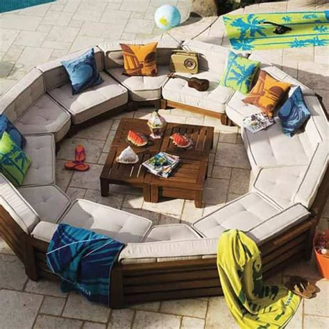 outdoor furniture circular couch outdoor sofa circle furniture design