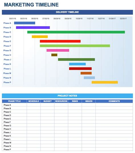 Marketing Timeline In Excel Startup Hacks Pinterest Marketing Plan Template Template And Free Wix Timeline Template