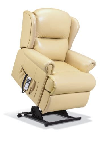 Small Lift Chair Recliners by Claremont Small Leather Lift Rise Recliner Sherborne