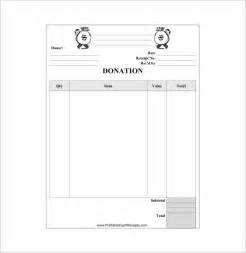 donation template word donation receipt template 9 free word excel pdf