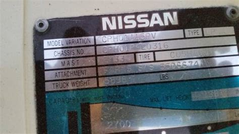 nissan forklift error codes nissan trouble code 31