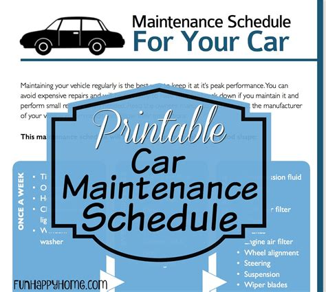 vehicle maintenance schedule yaruki up info
