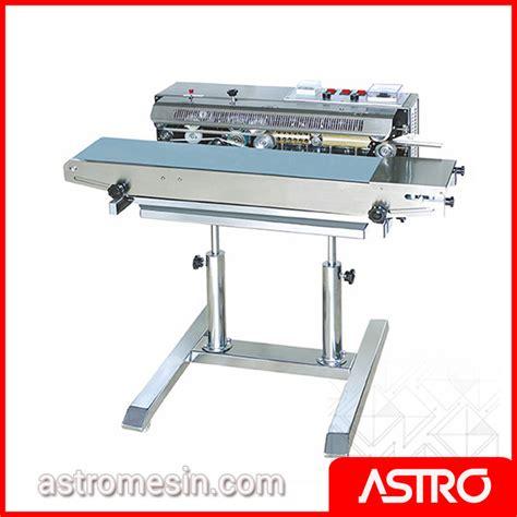 Alat Press Plastik Otomatis mesin continuous sealer surabaya harga mesin sealer