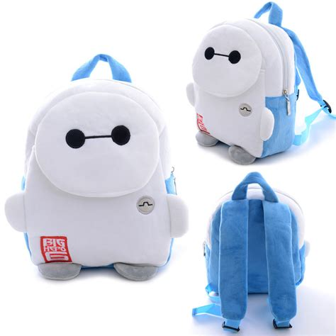 Baymax Cooler Bag 1 children baymax big 6 bags lovely small plush bags brand backpack children s