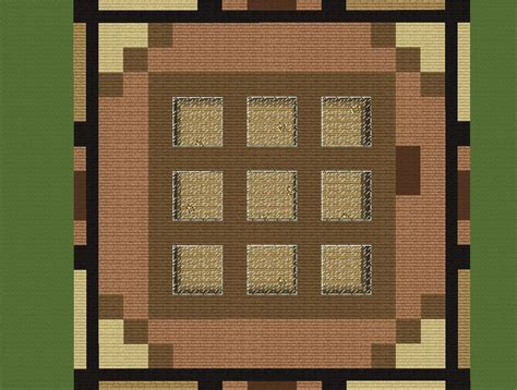 Minecraft Craft Table by Crafting Table House 32x32 Ultimate Flatland Survival