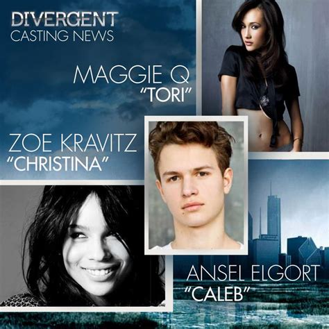 casting couch cara divergent casting news zoe kravitz maggie q and more