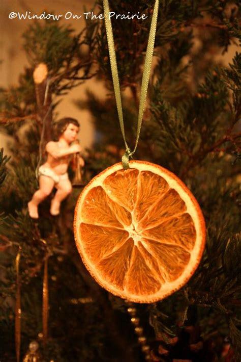 dried orange slice ornaments 171 window on the prairie