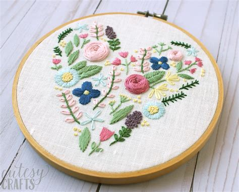 design patterns in embroidery floral heart hand embroidery pattern the polka dot chair