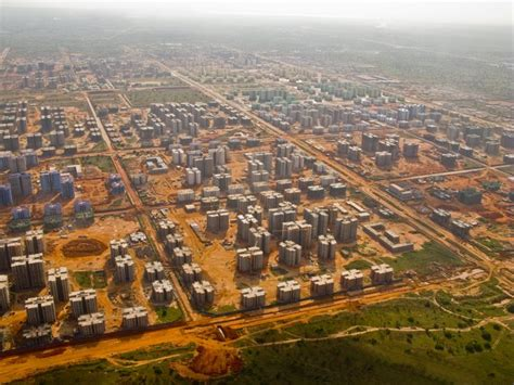 Skinny House Plans by Empty City In Angola Kimbala Chinese Built Ghost Town In