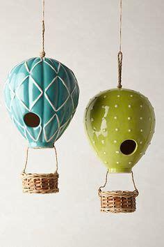Air Balloon Planter by Home Outdoor Decor Birdcage Lanterns Hanging