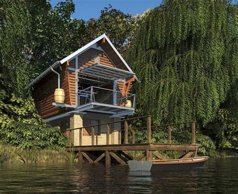 lake front house the crib lake front tiny micro houses pinterest