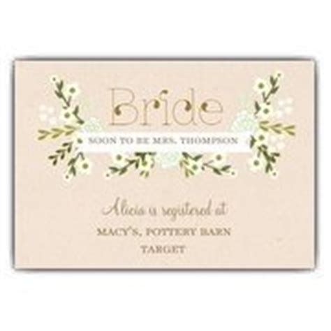 Registry Cards For Bridal Shower by Wedding Registry Cards At Paperstyle