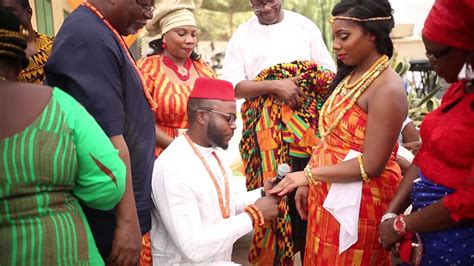 Ghanaian culture marriage in america