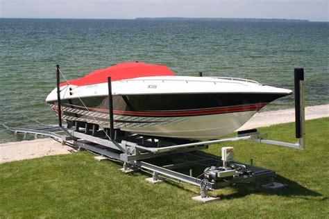 boat trailer nose guides marine railways r j machine