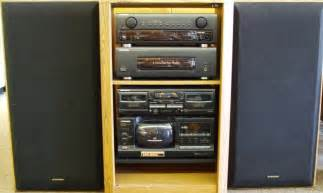 home stereos pioneer rack stereo system vintage electronics