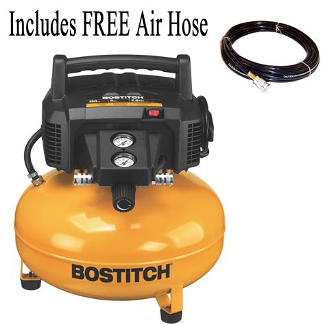 bostitch 6 gallon 150 psi free portable pancake air compressor btfp02012 ebay