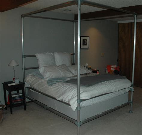 With Bed by Aluminum Pipe Bed 10 Steps With Pictures