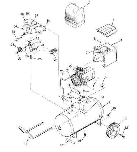 devilbiss irf420 1 air compressor parts