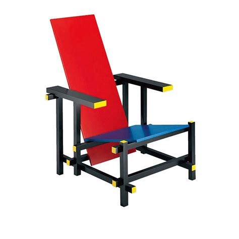 sedia rietveld and blue chair