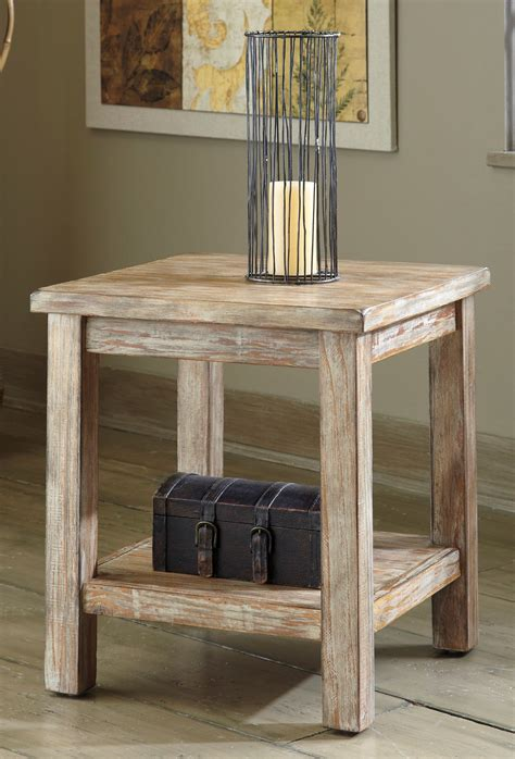 ashley accent tables buy ashley furniture t500 302 rustic accents chair side
