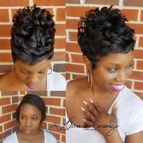 dc hairstylists specializing in short hair cuts the diva lounge hair salon larnetta moncrief montgomery