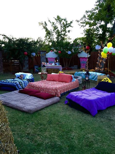 Sweet Sixteen Backyard Ideas by Best 25 Outdoor Ideas On Backyard Outdoor Birthday
