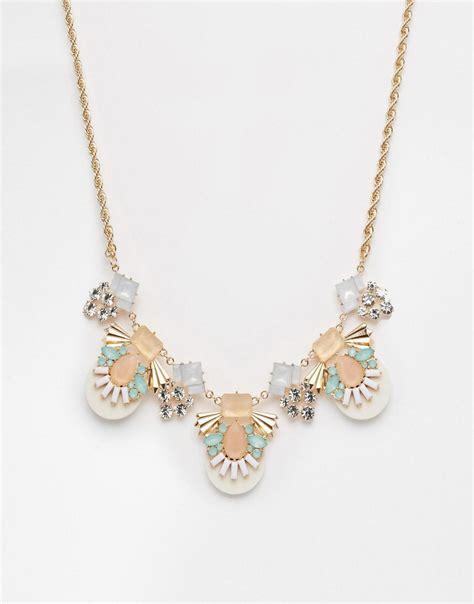 aldo aldo calogera statement necklace at asos