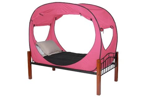 privacy pop bed tent twin privacy pop bed tent twin pink donald sutherland shopping
