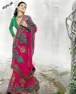 Latest fashion indian saree collection 2012 for girls style pk