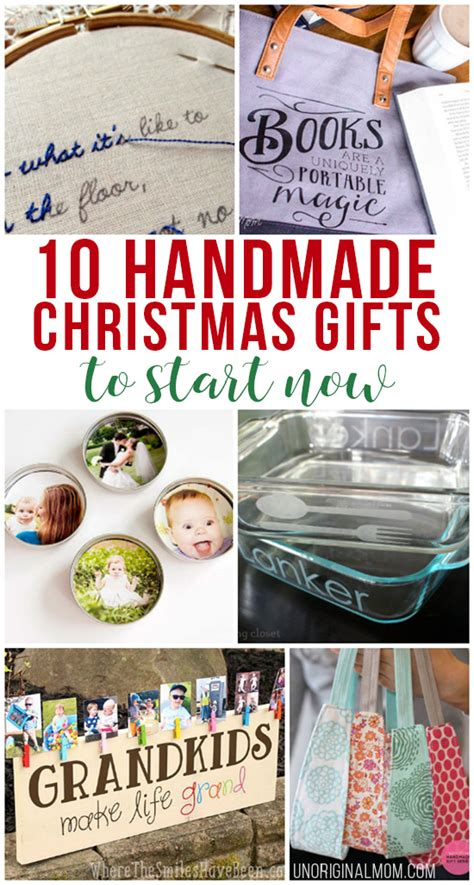 10 handmade christmas gifts to start now unoriginal mom