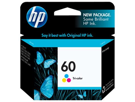 Tinta Cartridge Hp 60 Color Original Berkualitas hp 60 tri color original ink cartridge cc643wn hp 174 united states