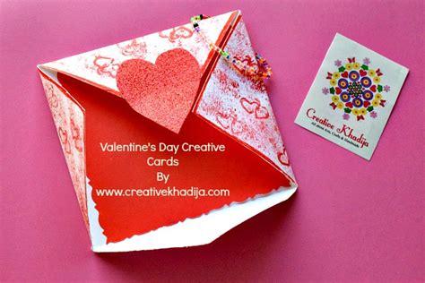 Creative Handmade Crafts - card creative mind khadija