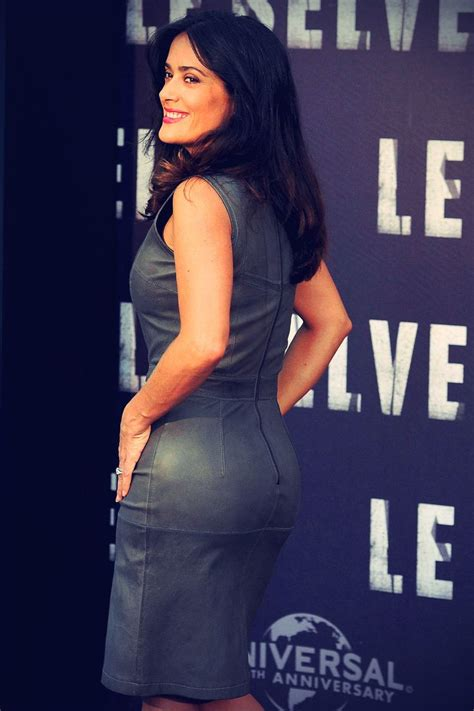 Salma Dress Grey salma hayek attends photcall of the savages in leather salma