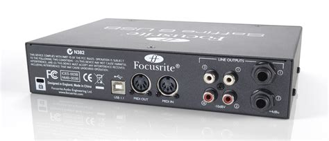 Sound Card Focusrite Saffire 6 Usb focusrite saffire 6 usb review musicradar