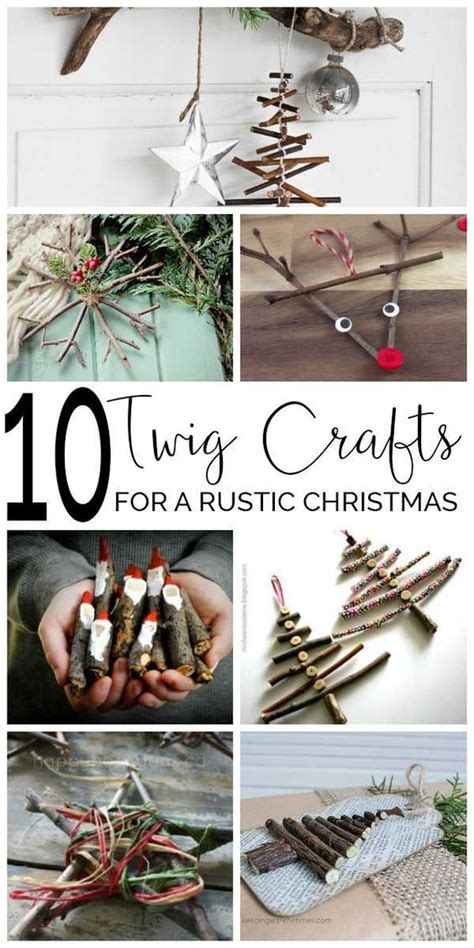 twig crafts for christmas beautiful twig crafts and