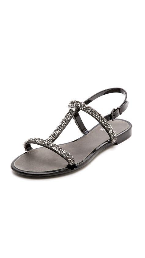 stuart weitzman jelly sandals stuart weitzman teezer glitter t jelly sandals in