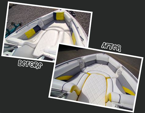 boat upholstery designs mission successful wakeboard boat renovation marine