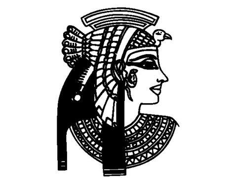 imagen para perfil imagui dibujo de perfil de cleopatra para colorear dibujos net
