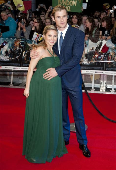 Dress Chriss Merah Chris Hemsworth Photos Photos At The Premiere Of