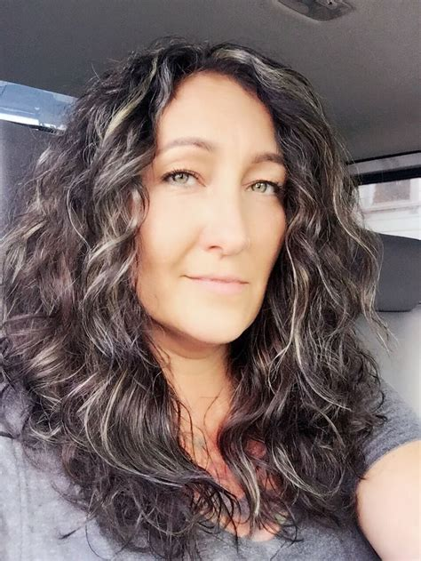pictures of dark hair highlighted to blend gray 2945 best grey grace images on pinterest gray hair grey