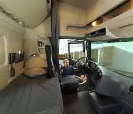 scania r series topline sleeper cab interior flickr