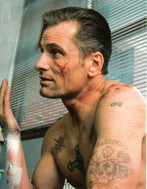 viggo mortensen tattoos lotr partial cast showing their matching tattoos