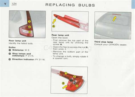 How To Change Brake Light Bulb by Forums Technical Questions Changing C4 Brake Light